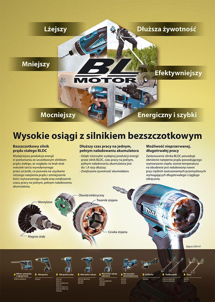 Akumulatorowa wiertarko-wkrętarka XGT 40 Vmax DF001GM201 Makita