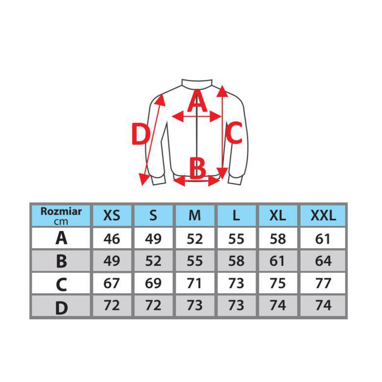 Kurtka softshell damska DEDRA BH65KS-M 96% poliester + 4% elastan rozmiar M