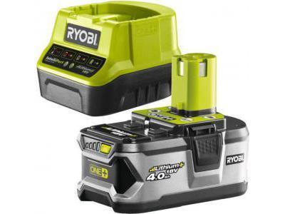 Ryobi Akumulator litowo-jonowy ONE+ 4.0 Ah + ładowarka RC18120-140 5133003360