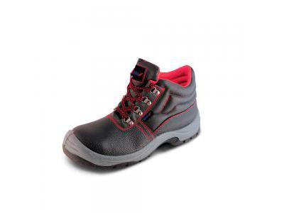 Trzewiki bezpieczne, buty BHP DEDRA BH9T1A-44 skórzane, rozmiar: 44, kat.S1P SRC