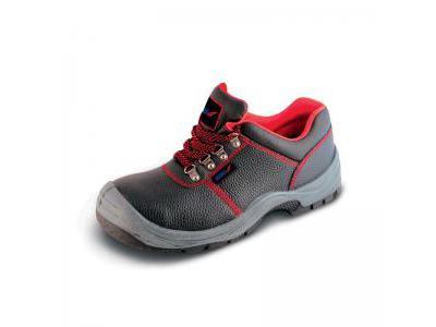 Półbuty bezpieczne, buty BHP DEDRA BH9P1A-43 skórzane, rozmiar: 43, kat.S1P SRC