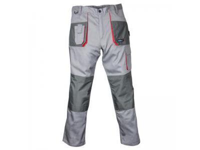 Spodnie ochronne DEDRA BH3SP-L, szare, Comfort line 190g/m2, rozmiar L