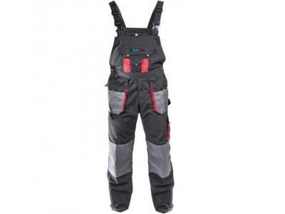 Spodnie ochronne ogrodniczki DEDRA BH2SO-XL, gramatura 265g/m2, rozmiar XL