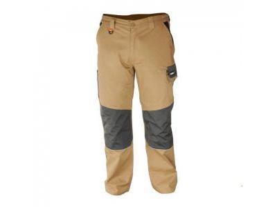 Spodnie ochronne DEDRA BH42SP-XL, 97% bawełna +3% elastan, Slim line 270g/m2, rozmiar XL