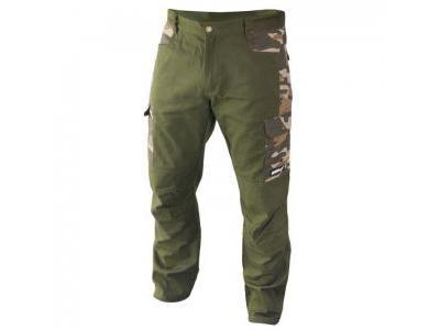 Spodnie zielone, moro DEDRA BH44SP-L, rozmiar L